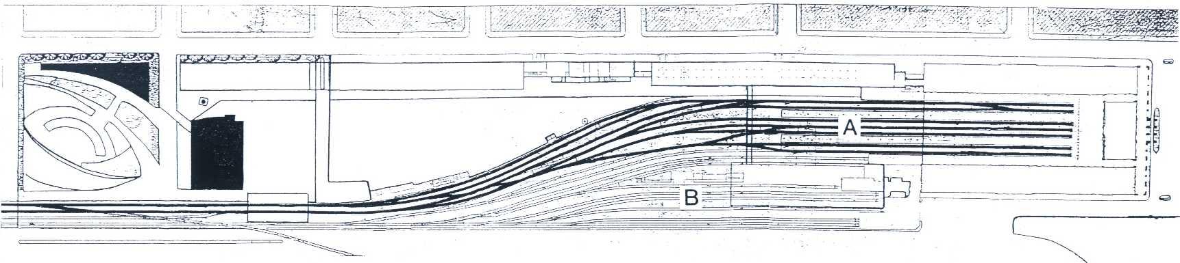 Nuevo plano de vías